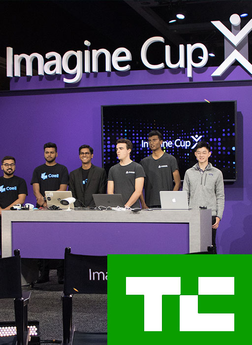 Microsoft Imagine Cup story by tech crunch